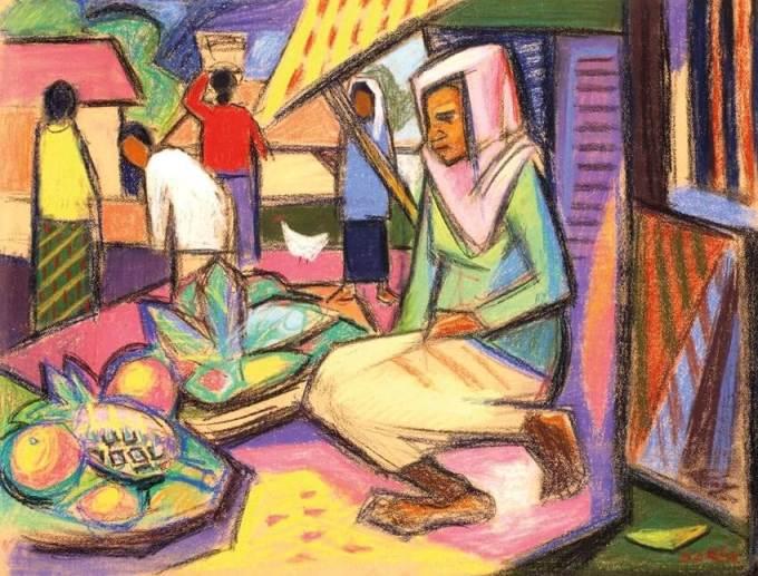 pelukis terkenal indonesia Barli Sasmitawinata