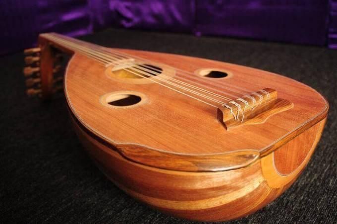 alat musik tradisional gambus jambi