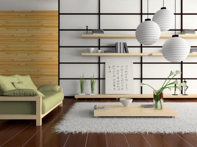 Teks deskripsi desain interior rumah jepang