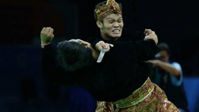 sea game pencak silat