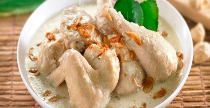 resep dan cara membuat opor ayam sederhana