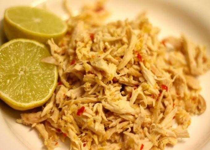 cara membuat dan resep ayam suwir sederhana