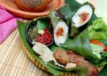 cara membuat dan resep nasi bakar ayam