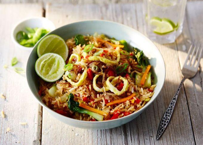 cara membuat dan resep nasi goreng oriental