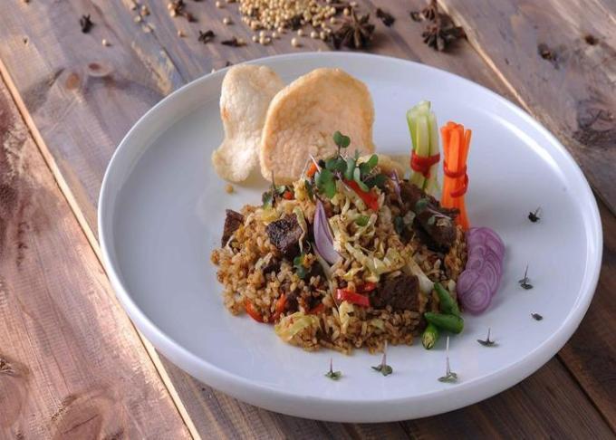 cara membuat dan resep nasi kebuli rice cooker
