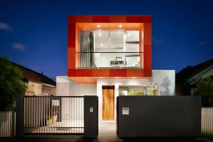 Desain Pagar Rumah Minimalis Hallow Galvanis