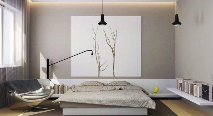 9 Inspirasi Desain Kamar Tidur Minimalis Full Anti Mainstream