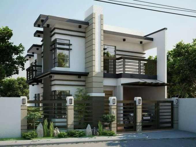 desain rumah mewah gaya asia