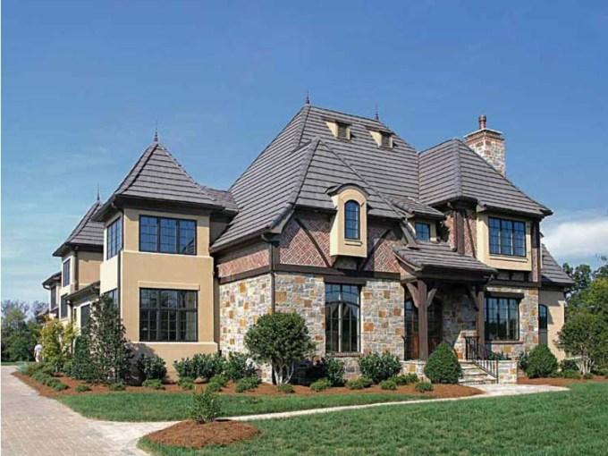 desain rumah mewah gaya victorian