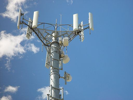 Pylône d'antennes