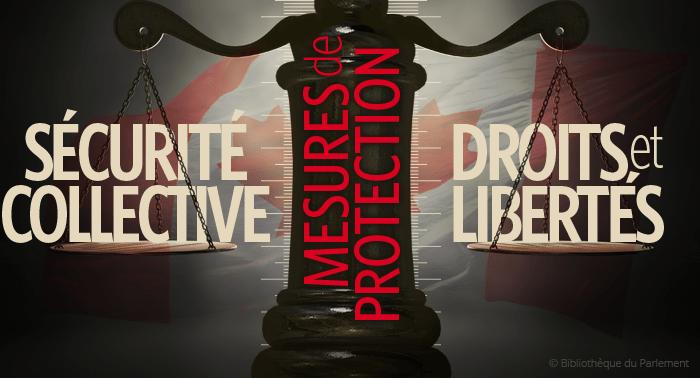 Image symbolisant l'équilibre entre les principes de sécurité collective et des droits et libertés