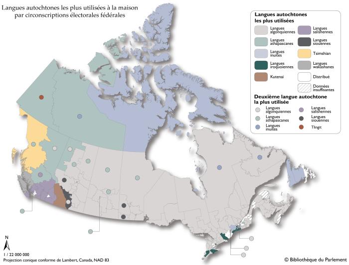 Sources : Carte préparée par la Bibliothèque du Parlement, Ottawa, 2016, à l'aide de données de Statistique Canada. Recensement du Canada de 2011, no de catalogue 98-314-XCB2011055 (Consulté le 17 novembre 2016); Statistique Canada. Recensement de 2016 - Fichiers des limites, no de catalogue 92-171-X. Le logiciel suivant a été utilisé : Esri, ArcGIS, version 10.3.1. Contient de l'information assujettie à l'Entente de licence ouverte de Statistique Canada.