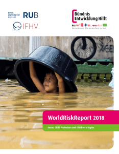 WorldRiskReport 2018