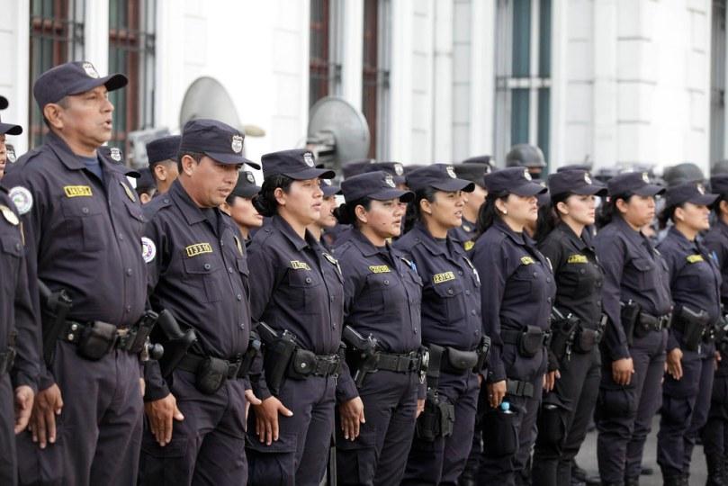 Traspaso de Mando de la Policía Nacional Civil.