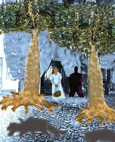 digital painting depicting an awe inspiring dream