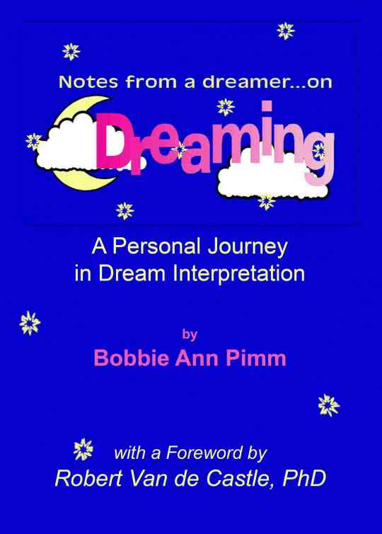 Notes from a Dreamer ... on Dreaming front cover