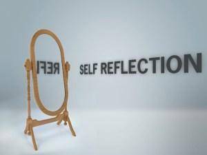 self reflection