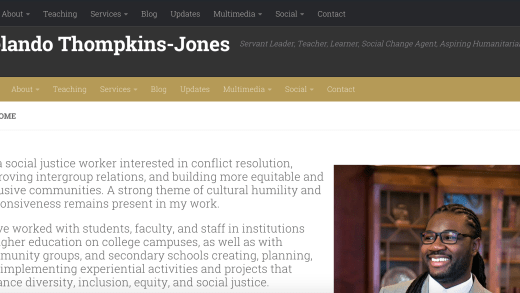Relando Thompkins-Jones Website