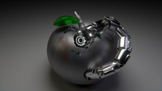 robot apple