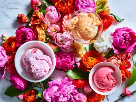 Leigh Beisch; Food Emily Caneer; Props Mikhael Romain Ice Cream Flowers