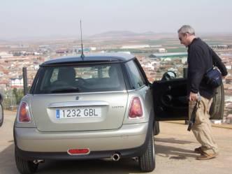 Preparing to tilt at Windmills, Consuegra, Castilla-La Mancha, Spain