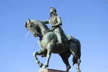 Statue of Joan of Arc, Place du Martroi, Orléans, France