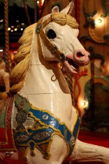 Wooden Horse, Carousel, Musée des Arts Forains, Paris , France