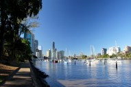 The Brisbane River, Brisbane, Australia
