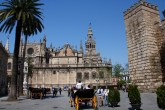 Cathedral and Giralda, Seville, Spain