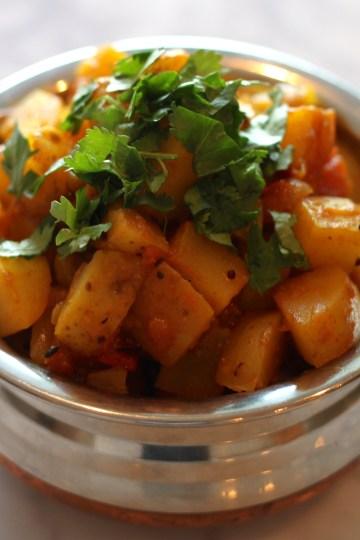 Classic Potato Curry Gujarati Style
