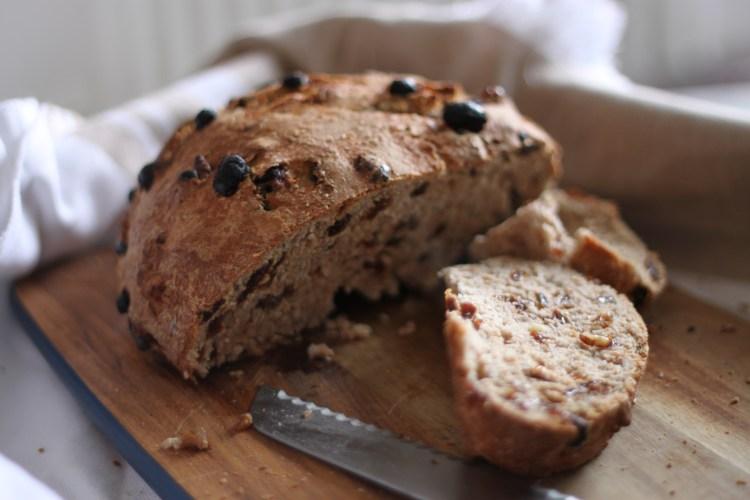walnut raisin sultana bread