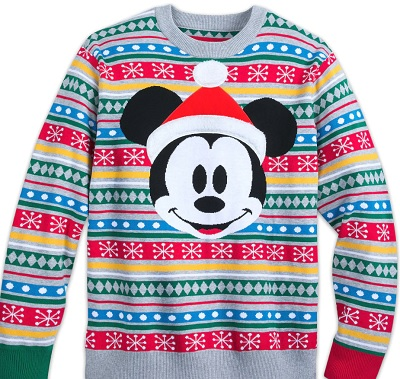 mickey or minnie mouse sweater - Disney Christmas Sweaters