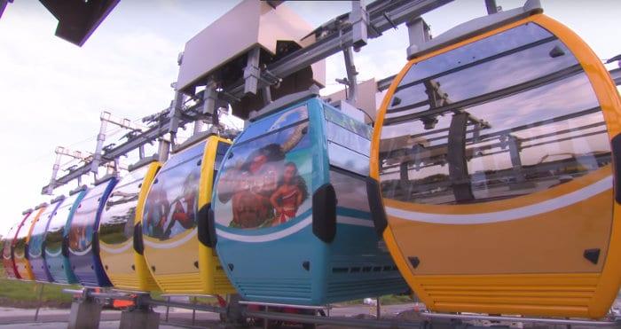 Disney Skyliner Cabins