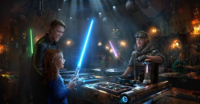 Star Wars: Galaxy's Edge lightsabers