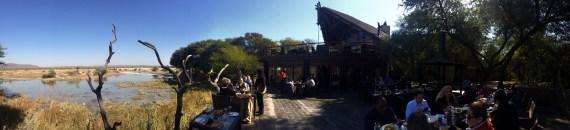 Tau Lodge patio