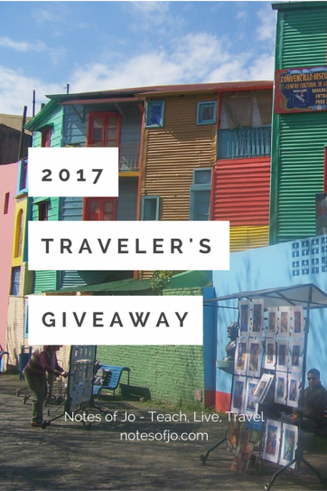 2017 travel giveaway