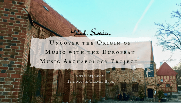 Ystad, Sweden: Uncover the Origin of Music with The European Music Archaeology Project