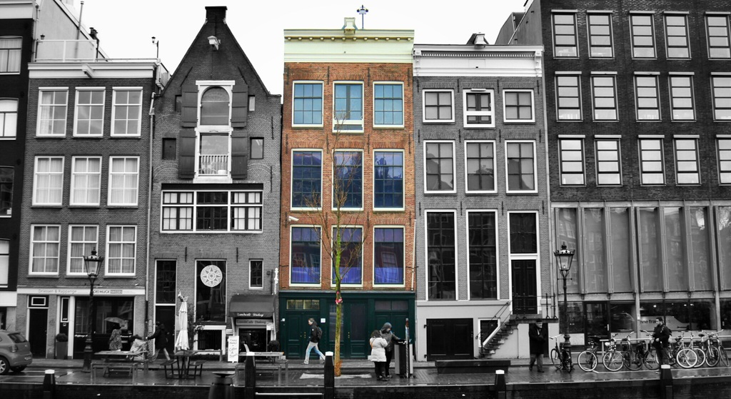 When in Amsterdam, don't miss the house of Anne Frank