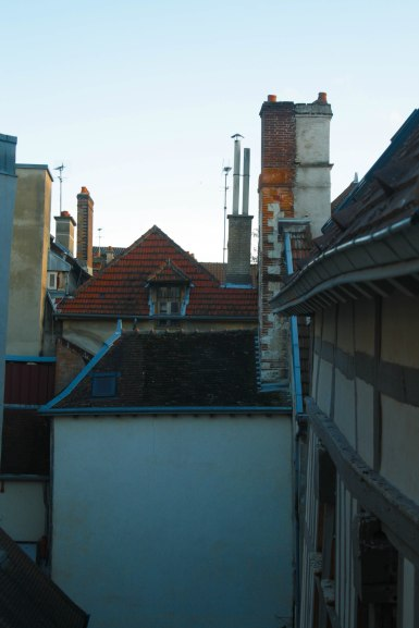 """View from my window . Makes me feel like I'm in the """"Chim-Chimenee"""" song in Mary Poppins"""
