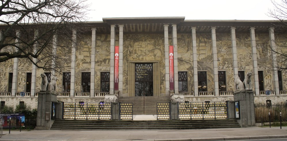 The Museum of History and Immigration, just down the street from where I used to live in Paris. Pictures don't do this building justice. It's really a work of art.