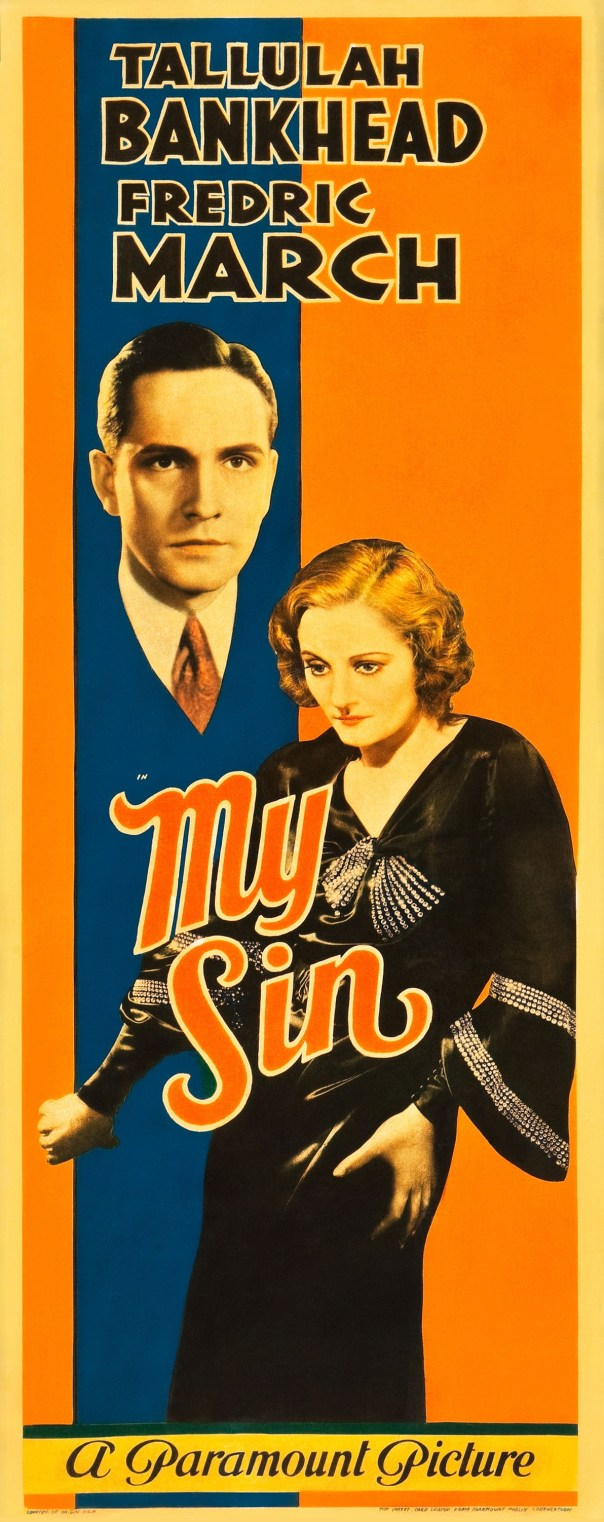 Poster - My Sin (1931)_01