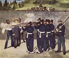 manet's execution of the emperor maximilan