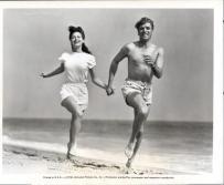 Ava and Burt on beach