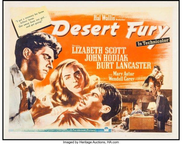 desert fury lobby card