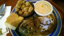 Veggie plate at Copper Kettle in Green Hills
