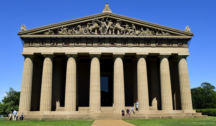 Parthenon in Centennial Park: near the top of things to do in Nashville
