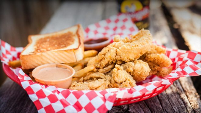 Best recommendation for chicken fingers--McDougal's