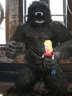 Bigfoot in Honky Tonk District