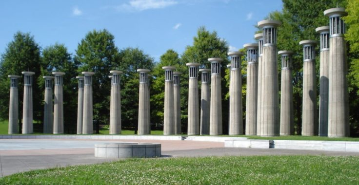 introduce kids to a carillon at Bicentennial Mall