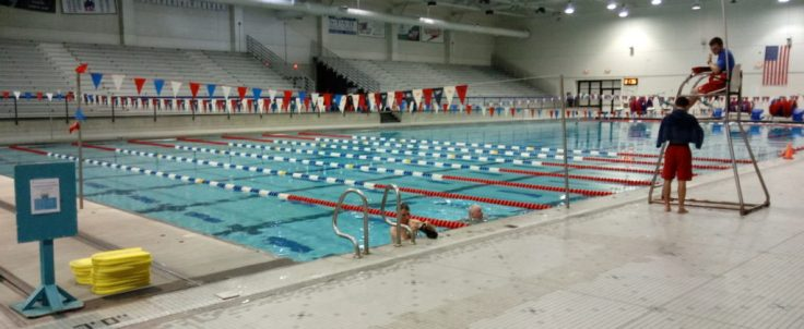 Sportsplex pool--recreation for kids and adults